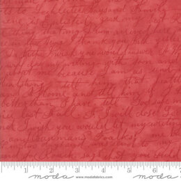 Moda Fabrics 3 Sisters Poetry Cut to Length - Rose 2
