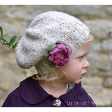 Baby, Child, Adult 'Little Petal' Slouchy Hat