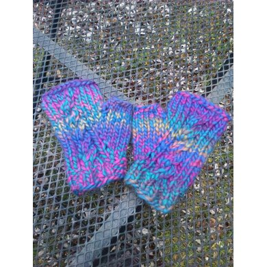 Cable Chunky Mitts