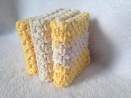Linen Stitch Washcloth