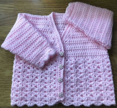Cardigan Crochet Pattern for Baby/Child (1014)