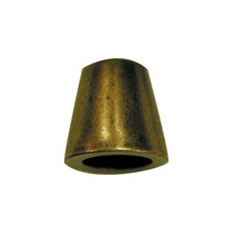 Elan Cord End - Ant. Brass