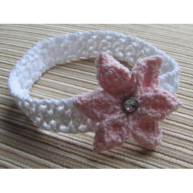 Knitted Headband For A Baby Girl Knitting Pattern By Yelena Chen