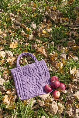 Grayland Bag in Classic Elite Yarns Soft Linen