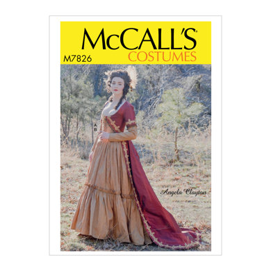 McCall's Misses' Costume M7826 - Sewing Pattern