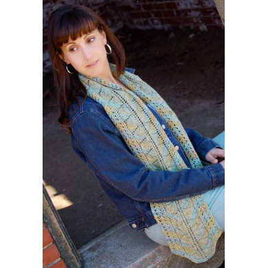 Manor Born Scarf In Knit One Crochet Too Kettle Tweed 2044