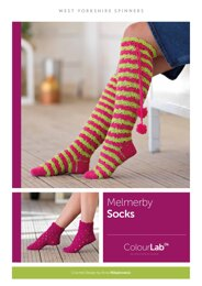 Melmerby Socks in West Yorkshire Spinners ColourLab - Downloadable PDF