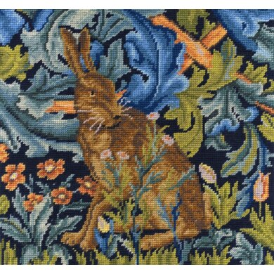 DMC The Hare by William Morris Tapestry Kit - 35 x 35cm