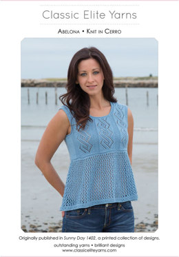 Abelona Top in Classic Elite Yarns Cerro - Downloadable PDF