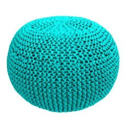 Knitted Pouf in Hoooked Zpagetti