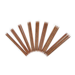 KnitPro Ginger Double Point Needle Set - 20cm (Set of 40)