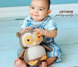 Amigurumi Nelson the Owl