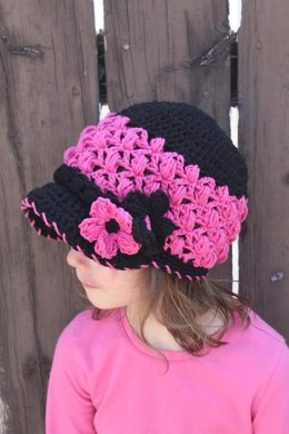 Lacy Newsboy Hat Pattern