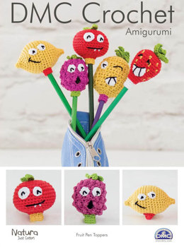 Fruit Pen Toppers in DMC Natura Just Cotton - 15314L/2 - Leaflet