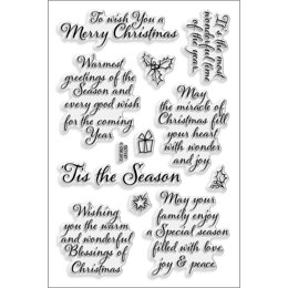 Stampendous Perfectly Clear Stamps - Tis The Season