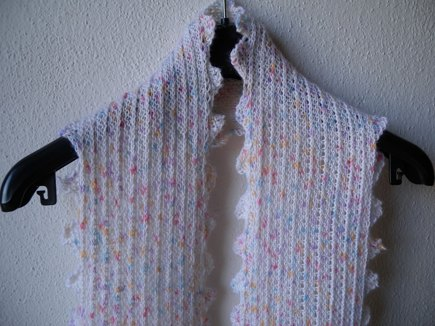 Frilly Scarf Knitting Project By Iglinz Loveknitting