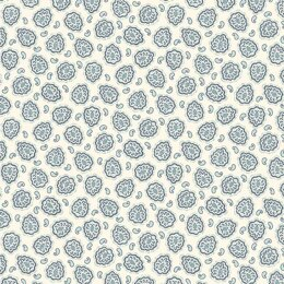 Andover Annabelle - Plump Paisley White
