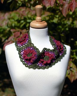 Fall Flowers Cowl