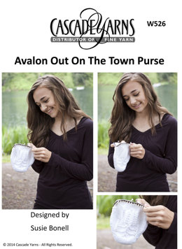 Out on The Town Purse in Cascade Avalon - W526