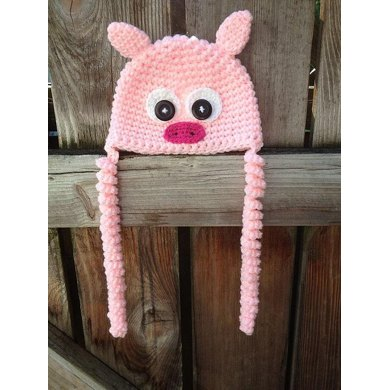 Penny Pig Hat Pattern