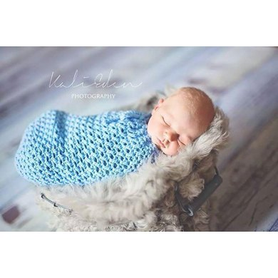 Karma Baby Cocoon Or Swaddle Sack Crochet Pattern By Crochet By