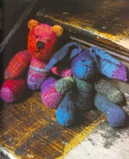 Bear Toy in Noro Kureyon