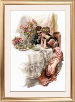 Riolis First Evening in their Own Home Cross Stitch Kit - 30cm x 42cm