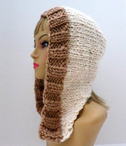 Snowfall Winter Hat with 2 Different Bands and 6 Different Styles