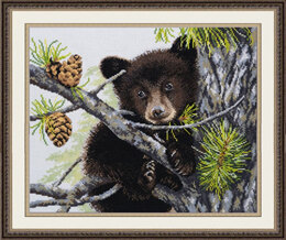 Oven Little Bear Cross Stitch Kit