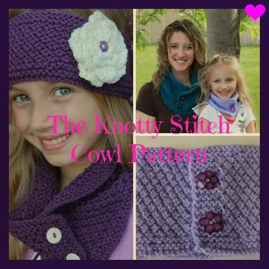 The Knotty Stitch Cowl