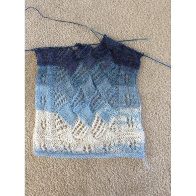 Frosted Windowpanes Scarf