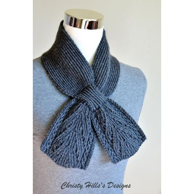 Everest Scarf Keyhole Ascot Pull Through Vintage Stay On