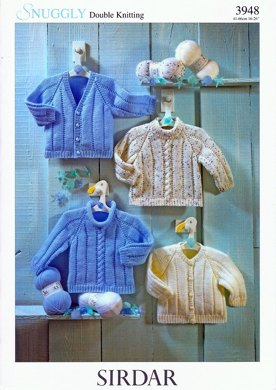 Sweaters and Cardigans in Sirdar Snuggly DK - 3948