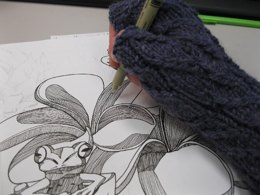 Drawing mitts
