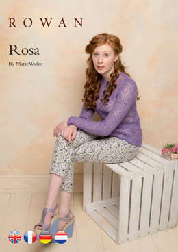 Rosa Sweater in Rowan Fine Lace