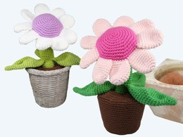 Potted Plant - Flower - Amigurumi