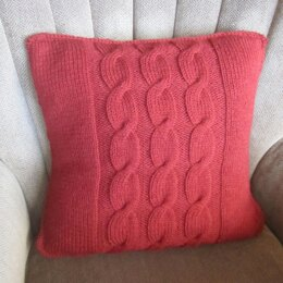 Cable Panel Pillow Cover
