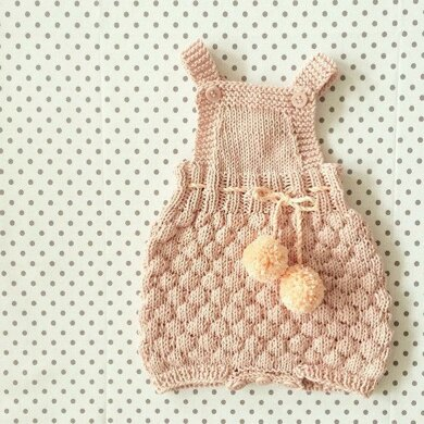 9b68087c343 The Sailor Romper Suit Knitting pattern by Sofie Bovbjerg