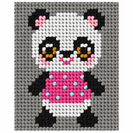 Orchidea Tapestry Kit: My First Panda - 17 x 20.5cm