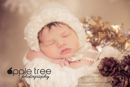 Traditional Vintage Baby Bonnet