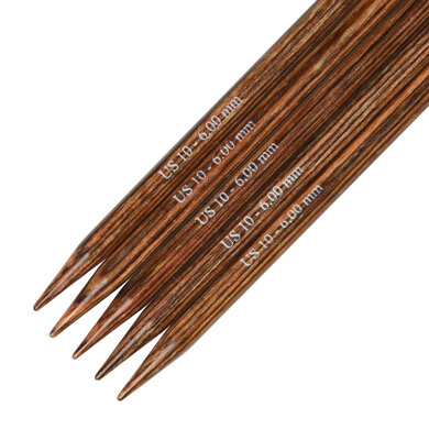 Knitter's Pride Ginger Double Point Needles 20cm (8in) (Set of 5)