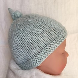 31995ba4181 Tegan Baby Hat with Top Knot