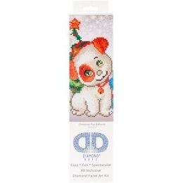 Diamond Dotz Christmas Pup and Mouse Diamond Dotz Kit - DD3-012