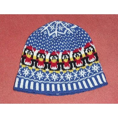 Penguins winter beanie