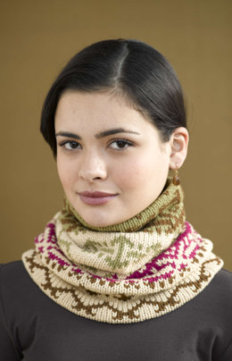 Cloudsong Cowl in Lion Brand Cotton-Ease - 90660AD
