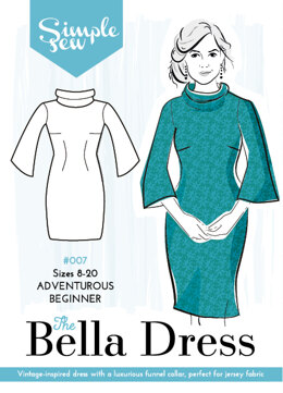 Simple Sew Patterns The Bella Dress #007 - Sewing Pattern