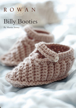 Billy Booties in Rowan Baby Merino Silk DK