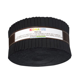 Robert Kaufman Kona Cotton Solids 2.5in Strip Roll - RU-196-40