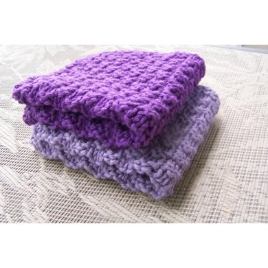 Small Checker Board Washcloth