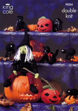 Halloween Set in King Cole Bamboo Cotton DK - 9004